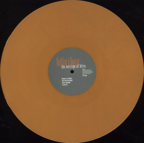 Biffy Clyro The Vertigo Of Bliss - 180gram Orange Vinyl vinyl LP album (LP record) UK B.YLPTH690426