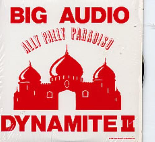 Big Audio Dynamite Ally Pally Paradiso CD album (CDLP) US BADCDAL08318