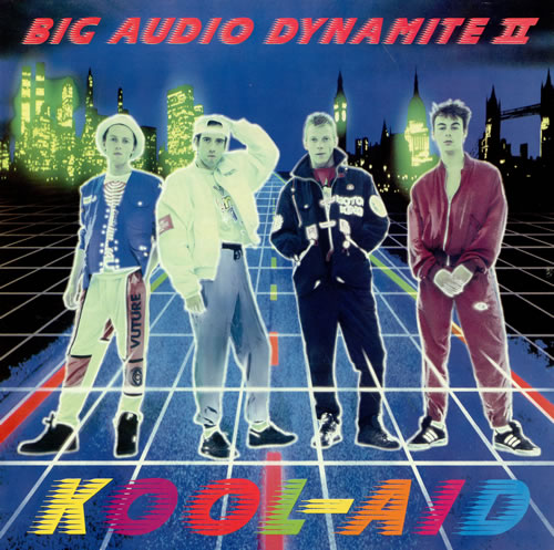 Big Audio Dynamite Kool-Aid vinyl LP album (LP record) UK BADLPKO467158