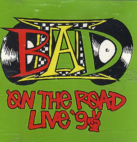 "Big Audio Dynamite On The Road Live 92 CD single (CD5 / 5"") US BADC5ON10316"