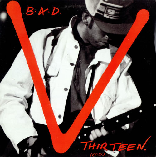 "Big Audio Dynamite V. Thirteen 12"" vinyl single (12 inch record / Maxi-single) US BAD12VT476180"