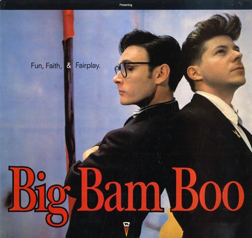 Big Bam Boo Fun, Faith, & Fairplay vinyl LP album (LP record) UK IGBLPFU558771