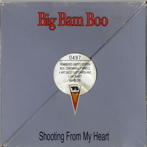 "Big Bam Boo Shooting From My Heart 7"" box set UK IGB7XSH601354"