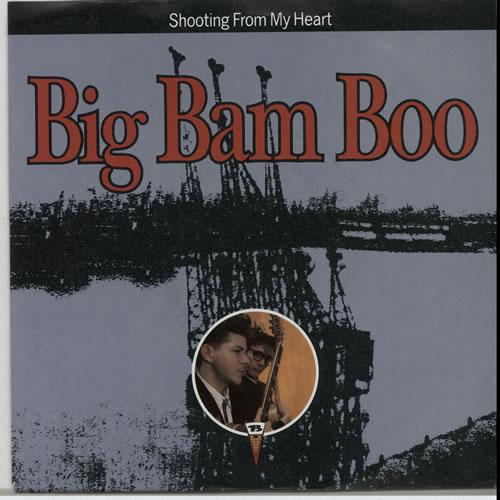 "Big Bam Boo Shooting From My Heart 7"" vinyl single (7 inch record) German IGB07SH630692"