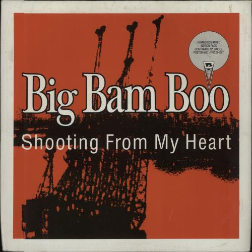 "Big Bam Boo Shooting From My Heart 12"" vinyl single (12 inch record / Maxi-single) UK IGB12SH674254"