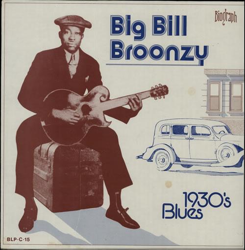 Big Bill Broonzy 1930's Blues vinyl LP album (LP record) US BGZLPSB632369