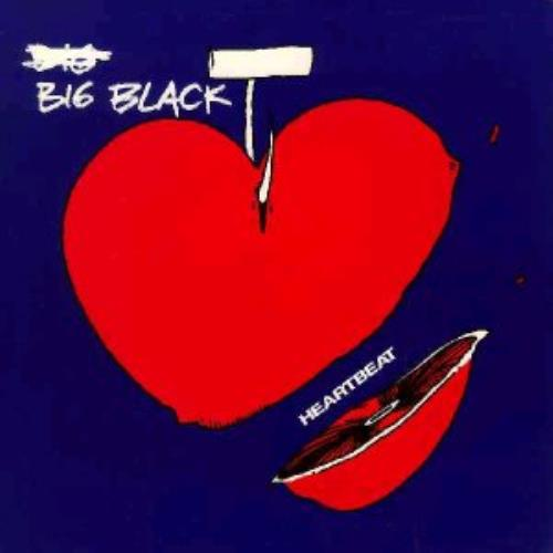 "Big Black Heartbeat 7"" vinyl single (7 inch record) UK BAC07HE335402"