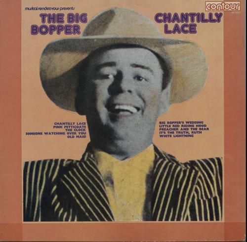 Big Bopper Chantilly Lace vinyl LP album (LP record) UK B7BLPCH630707