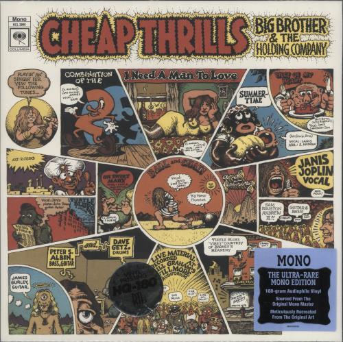 Big Brother & The Holding Co. Cheap Thrills - 180gm Vinyl vinyl LP album (LP record) US BB&LPCH733593