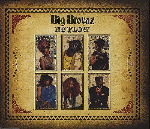 "Big Brovaz Nu Flow CD single (CD5 / 5"") UK BVZC5NU385385"