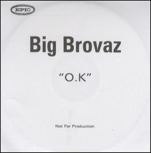 Big Brovaz O.K. CD-R acetate UK BVZCROK243744
