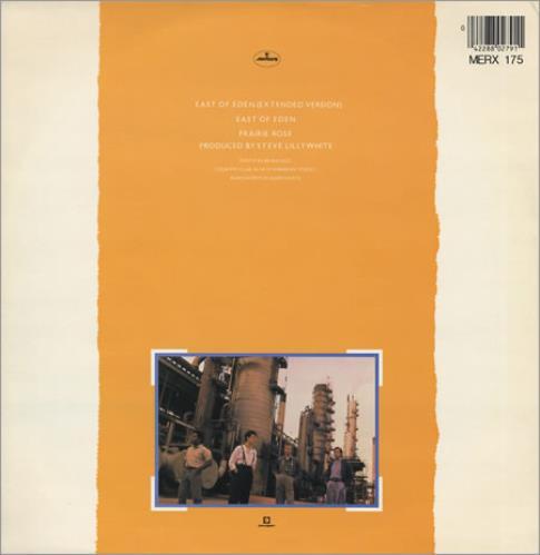 "Big Country East Of Eden 12"" vinyl single (12 inch record / Maxi-single) UK BIG12EA23260"