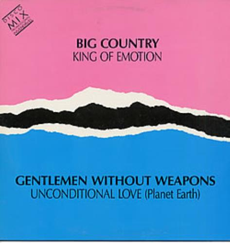 "Big Country King Of Emotion 12"" vinyl single (12 inch record / Maxi-single) Brazilian BIG12KI236092"