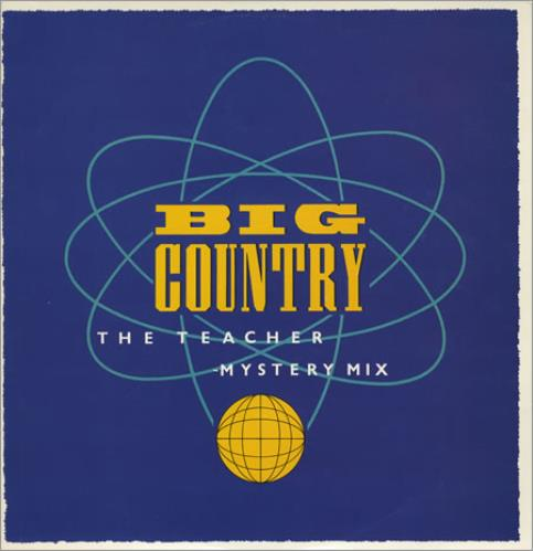 "Big Country The Teacher - Mystery Mix 12"" vinyl single (12 inch record / Maxi-single) UK BIG12TH23261"