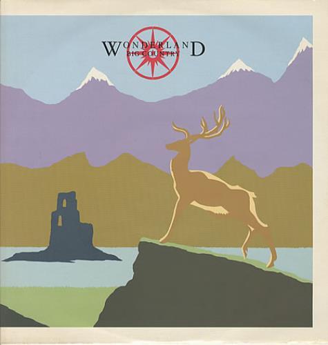 "Big Country Wonderland 12"" vinyl single (12 inch record / Maxi-single) UK BIG12WO14525"