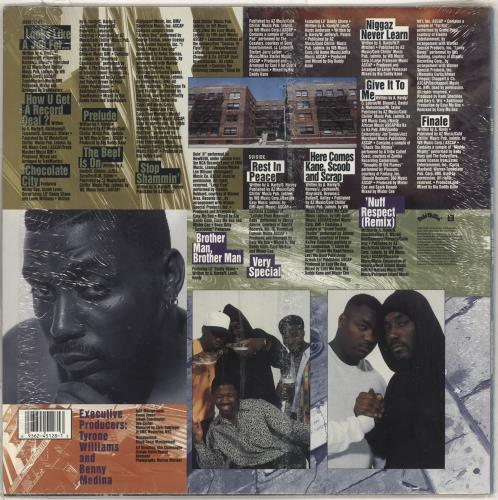 Big Daddy Kane Looks Like A Job For... vinyl LP album (LP record) US BDDLPLO712068