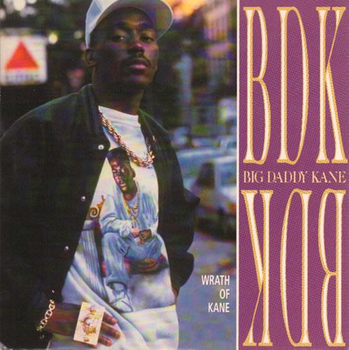 "Big Daddy Kane Wrath Of Kane 7"" vinyl single (7 inch record) UK BDD07WR641793"