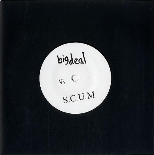 """Big Deal Talk - RSD 7"""" vinyl single (7 inch record) UK F9O07TA620953"""
