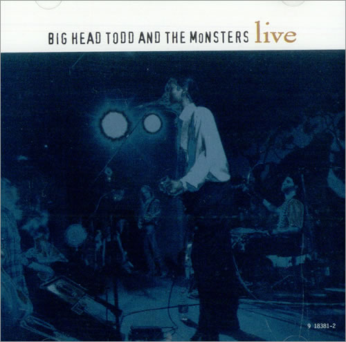 "Big Head Todd And The Monsters Live CD single (CD5 / 5"") US BA1C5LI510051"