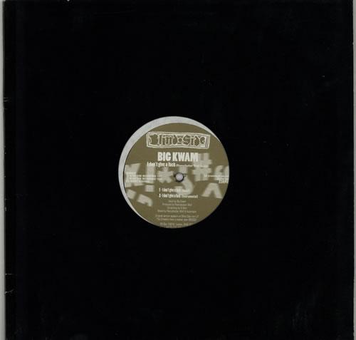"Big Kwam I Don't Give A Fuck (Peanutbutter Wolf Remix) 12"" vinyl single (12 inch record / Maxi-single) UK G6G12ID629992"