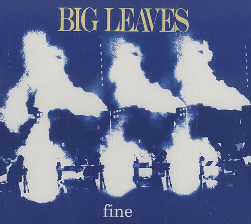 "Big Leaves Fine CD single (CD5 / 5"") UK BIVC5FI495600"