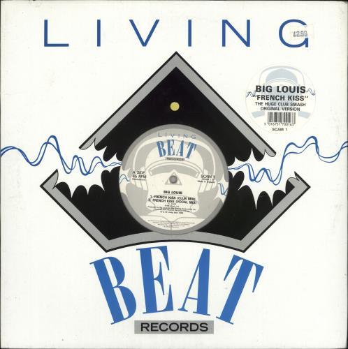 "Big Louis French Kiss 12"" vinyl single (12 inch record / Maxi-single) UK Z5T12FR724906"