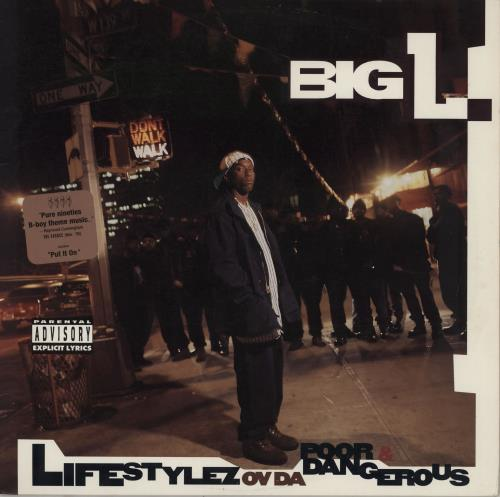 Big L Lifestylez Ov Da Poor & Dangerous - 1st vinyl LP album (LP record) US B1XLPLI754243