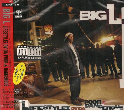 Big L Lifestylez Ov Da Poor and Dangerous CD album (CDLP) Japanese B1XCDLI487794