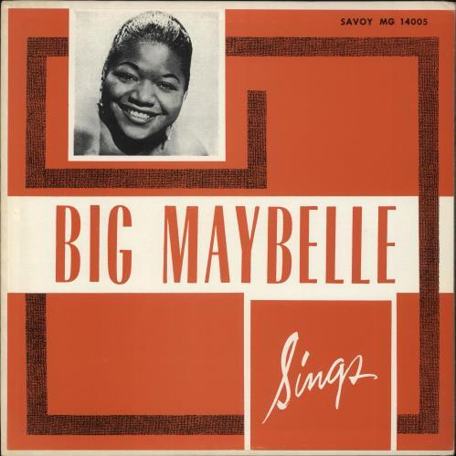 Big Maybelle Big Maybelle Sings vinyl LP album (LP record) US B8HLPBI708388