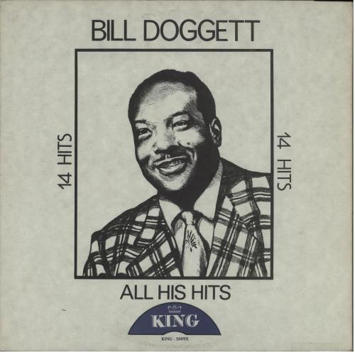 Bill Doggett All His Hits vinyl LP album (LP record) US BTJLPAL668765