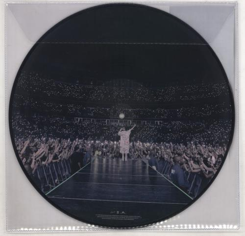 Billie Eilish When We All Fall Asleep, Where Do We Go? picture disc LP (vinyl picture disc album) UK 0NRPDWH734539