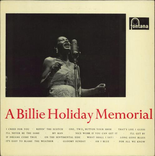 Billie Holiday A Billie Holiday Memorial vinyl LP album (LP record) UK B/HLPAB535834
