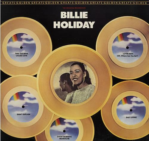Billie Holiday Golden Greats vinyl LP album (LP record) UK B/HLPGO388694