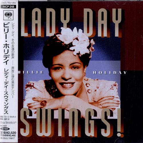 Billie Holiday Lady Day Swings CD album (CDLP) Japanese B/HCDLA544823
