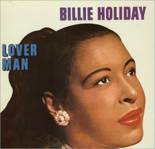 Billie Holiday Lover Man vinyl LP album (LP record) UK B/HLPLO388988