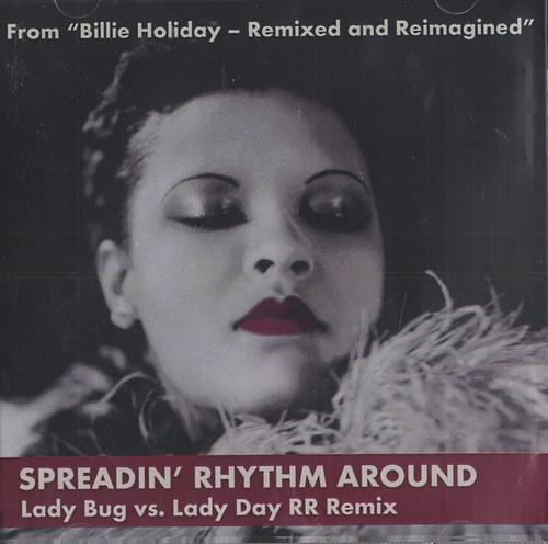 "Billie Holiday Spreadin' Rhythm Around CD single (CD5 / 5"") US B/HC5SP442158"