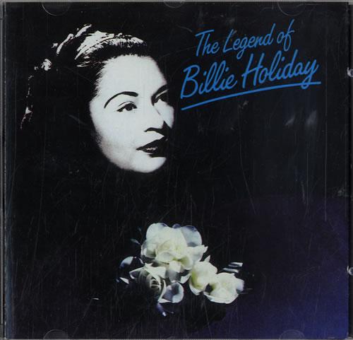 Billie Holiday The Legend Of Billie Holiday CD album (CDLP) UK B/HCDTH579707