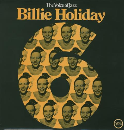 Billie Holiday The Voice Of Jazz Volume 6 vinyl LP album (LP record) UK B/HLPTH363282