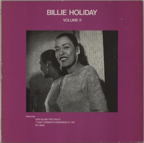 Billie Holiday Volume Ii Uk Vinyl Lp Album Lp Record 434340