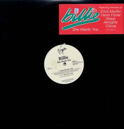 "Billie Piper She Wants You - Dbl Pack 12"" vinyl single (12 inch record / Maxi-single) US B.L12SH139380"