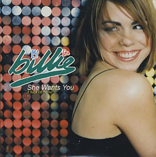 "Billie Piper She Wants You CD single (CD5 / 5"") UK B.LC5SH128361"