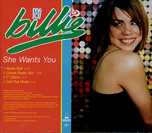 Billie Piper She Wants You Us Promo Cd Single Cd5 5