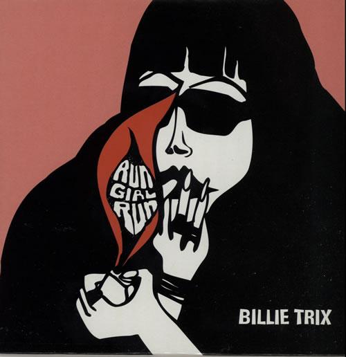 "Billie Trix Run Girl Run CD single (CD5 / 5"") UK BLXC5RU216340"
