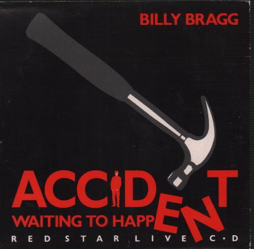 Billy Bragg Accident Waiting To Happen: Red Star Live CD UK CD single (CD5  / 5