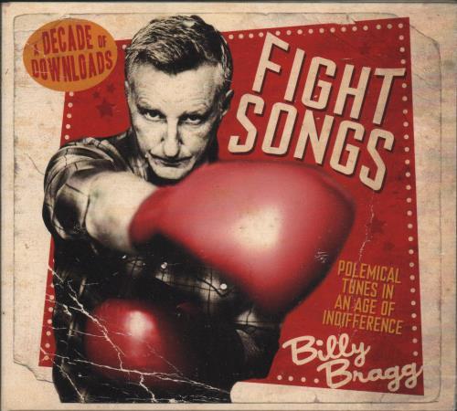 Billy Bragg Fight Songs (A Decade Of Downloads) CD album (CDLP) UK BBRCDFI671744