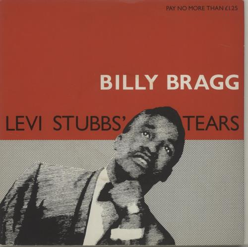 """Billy Bragg Levi Stubbs' Tears - Injection 7"""" vinyl single (7 inch record) UK BBR07LE688254"""