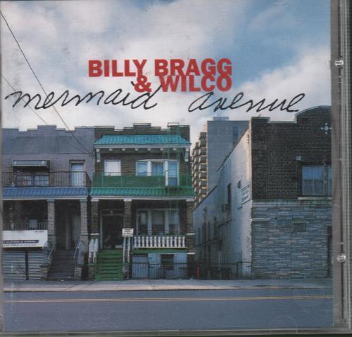 Billy Bragg Mermaid Avenue CD album (CDLP) UK BBRCDME671761