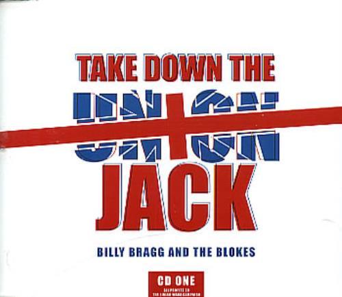 "Billy Bragg Take Down The Union Jack CD single (CD5 / 5"") UK BBRC5TA292681"