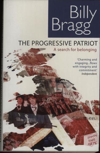 Billy Bragg The Progressive Patriot - Softback book UK BBRBKTH671904