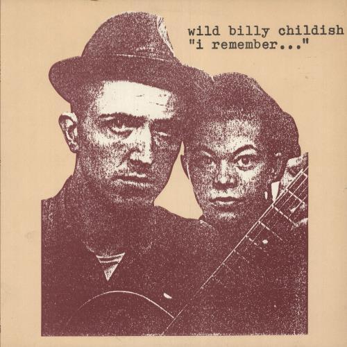 Billy Childish I Remember vinyl LP album (LP record) UK BLCLPIR746229